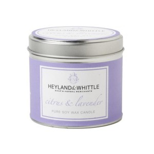heyland and whittle citrus and lavender candle