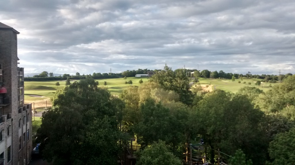 Celtic Manor - View from our room