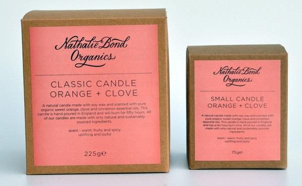 Nathalie Bond Organics candle