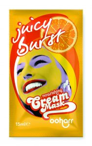 Juicy Burst Ooharr cream face Mask