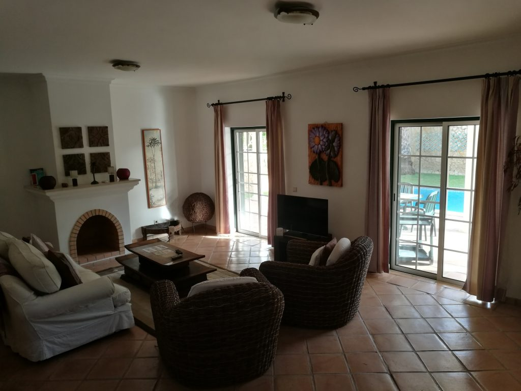 Our Villa Lounge at Martinhal Quinta