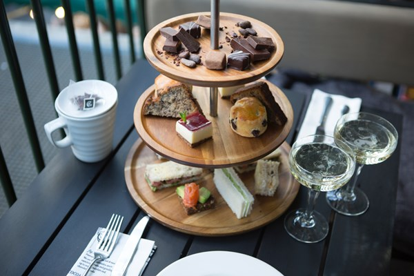 hotel chocolat afternoon tea