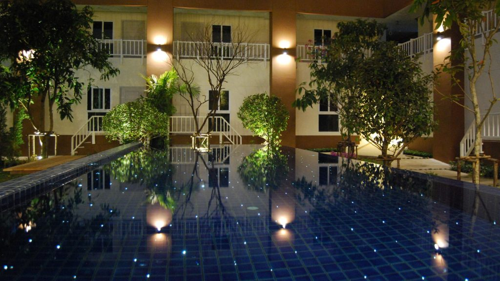 U-Tiny hotel pool Thailand