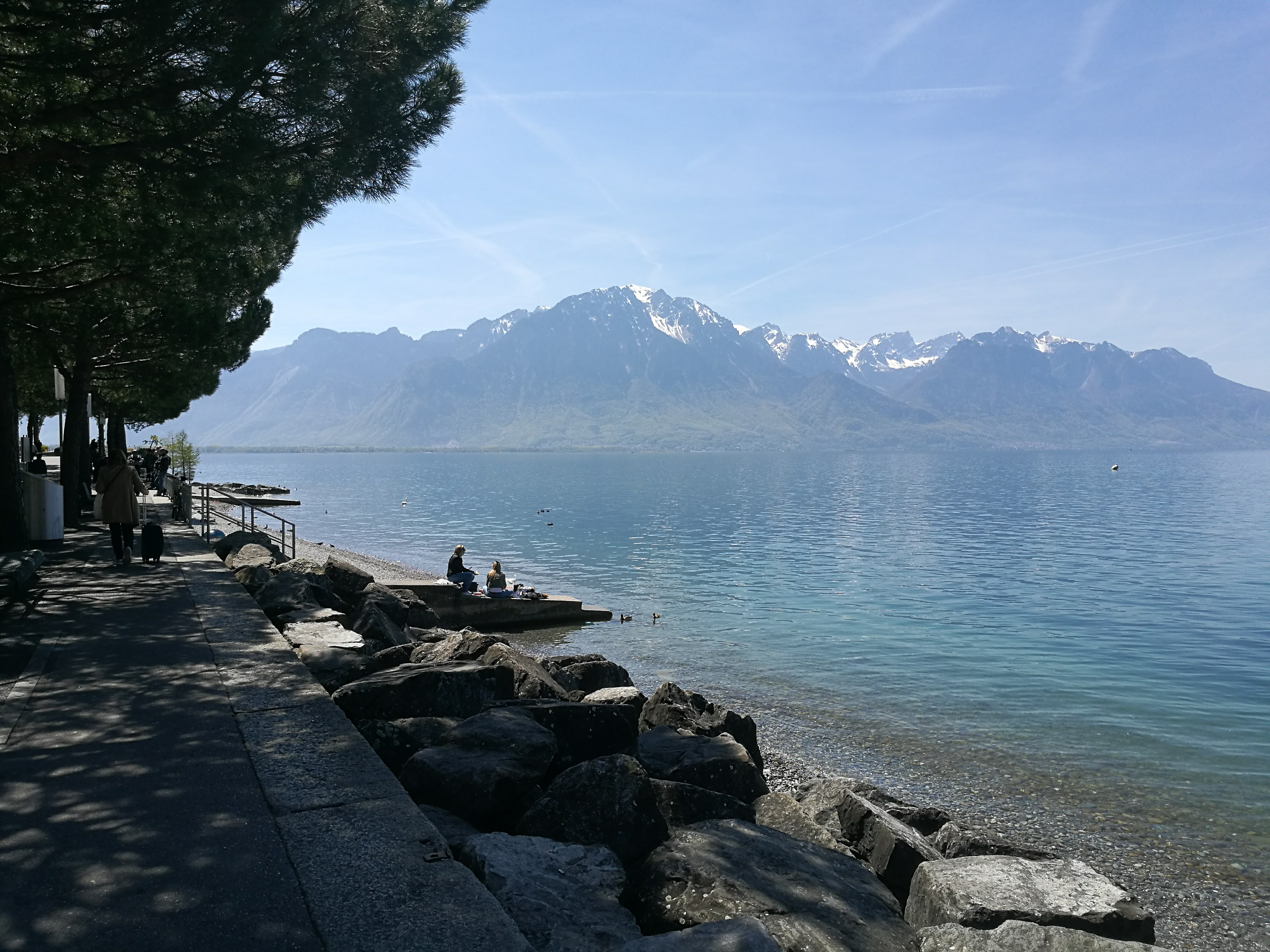 The waterfront at Montreux