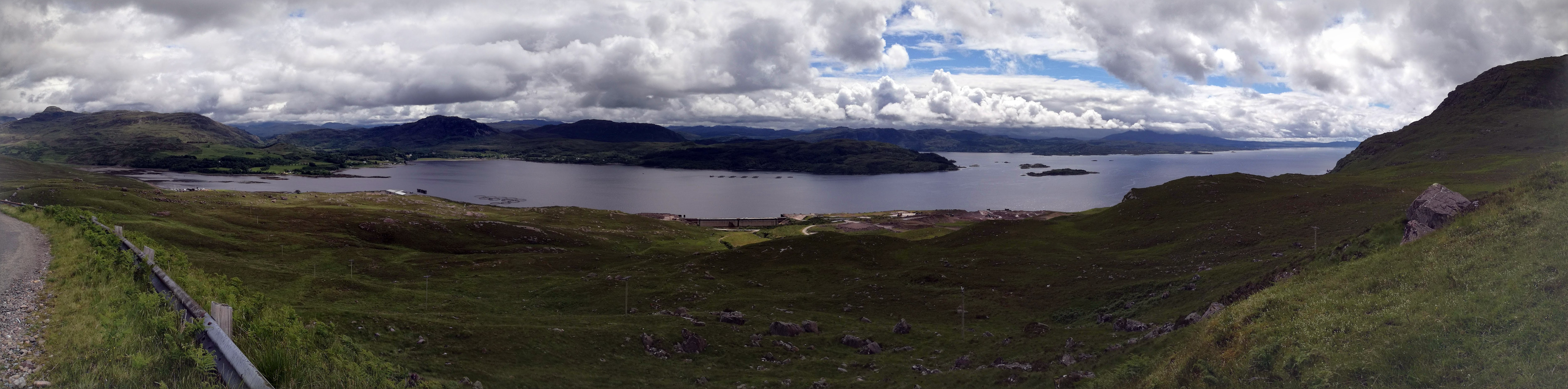 One of the views en route to Applecross
