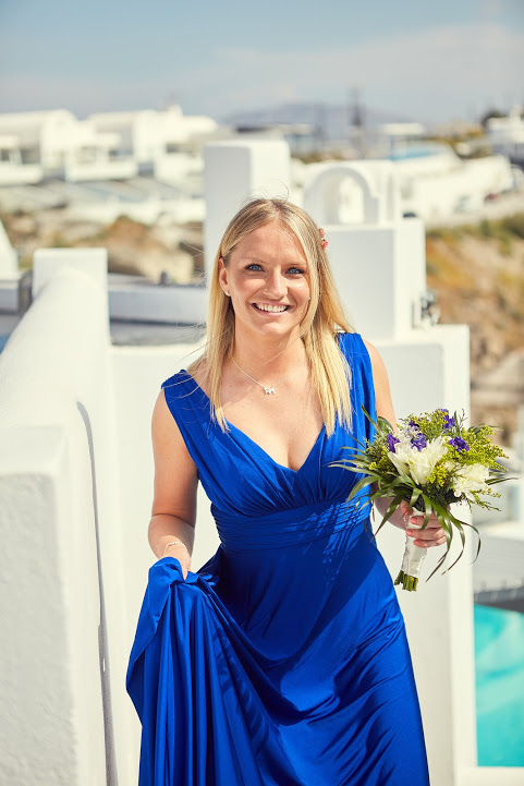 Maddie bridesmaid
