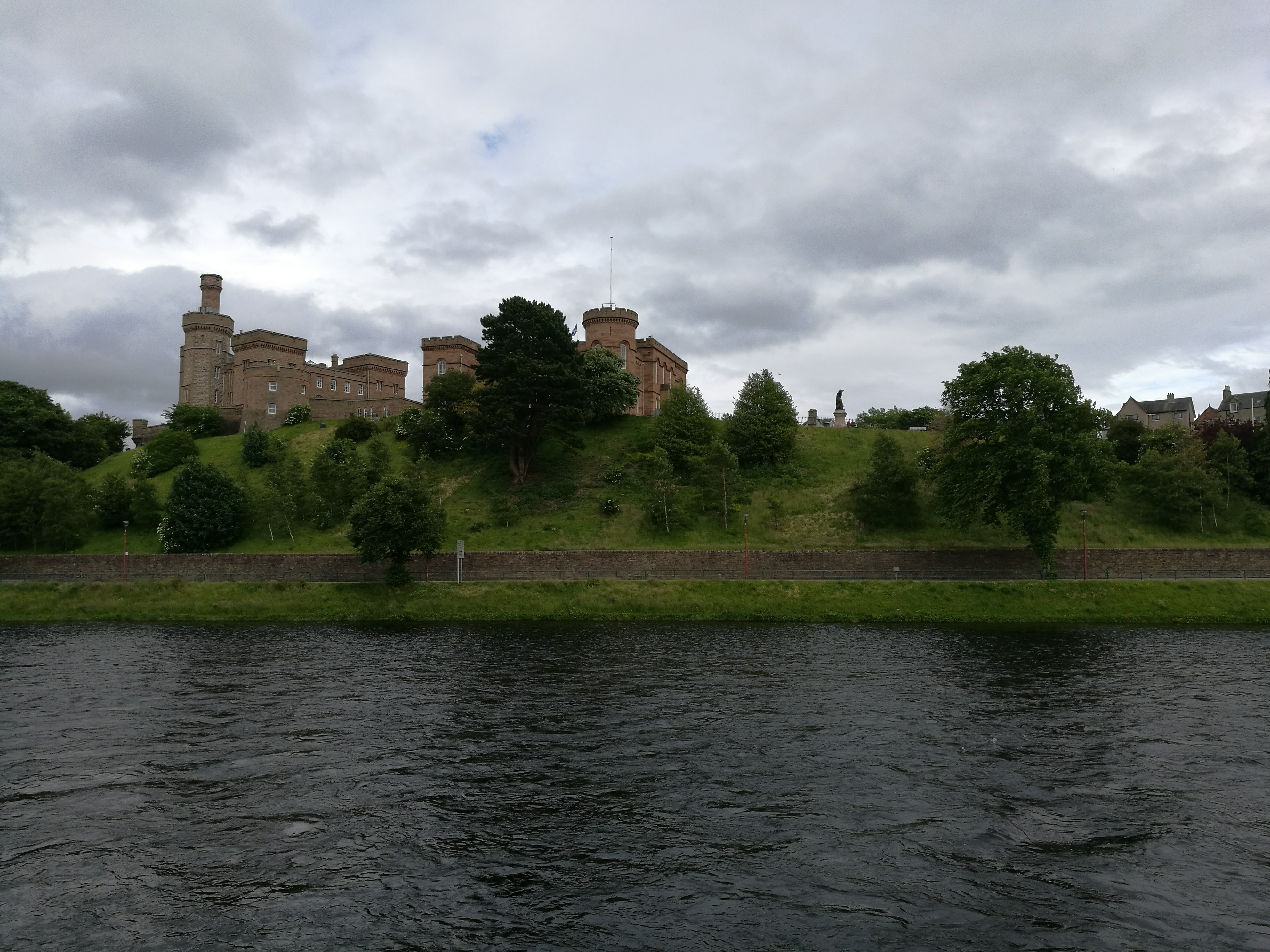 The castle at Inverness