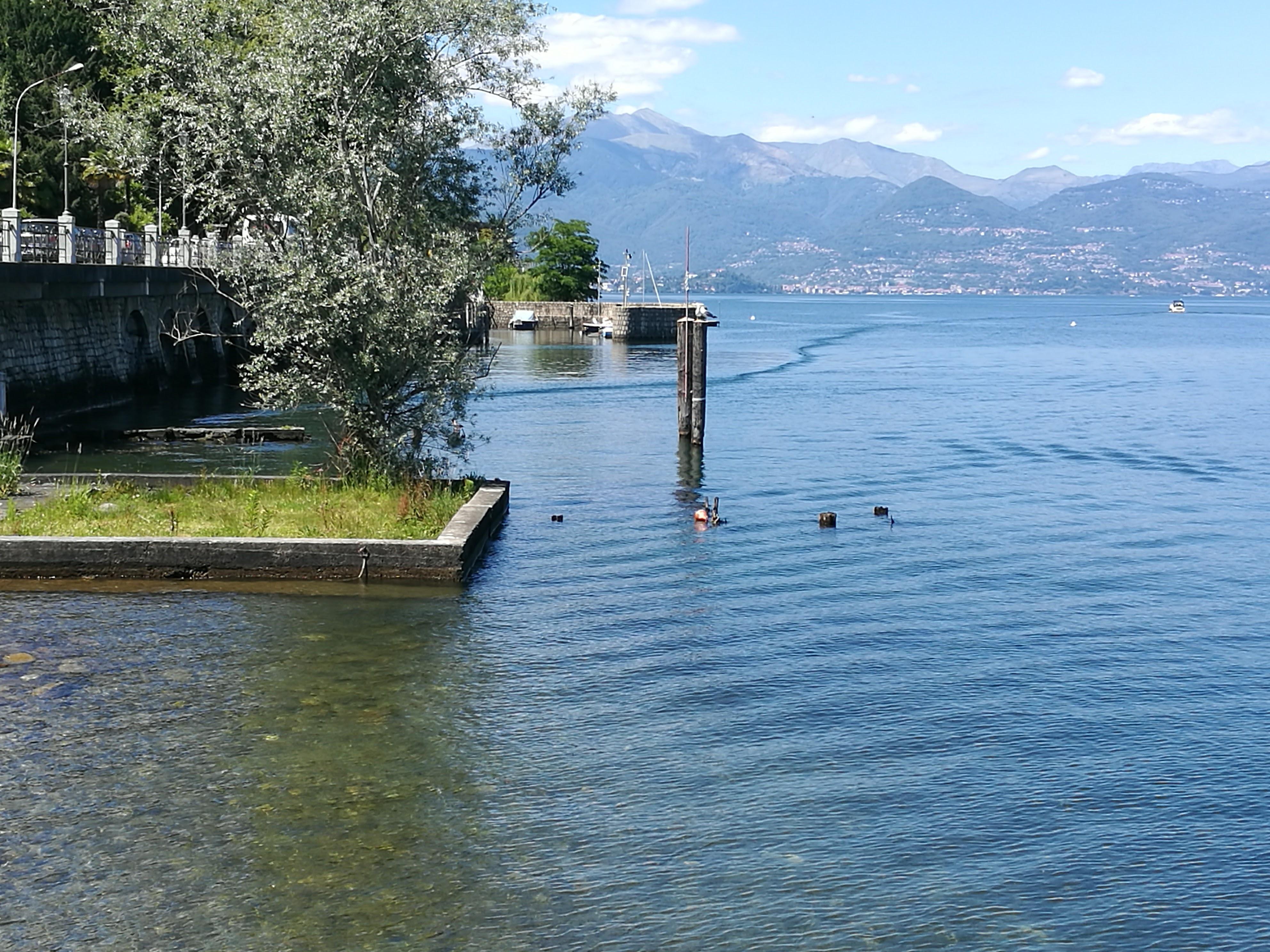 The shores of Lake Maggiore