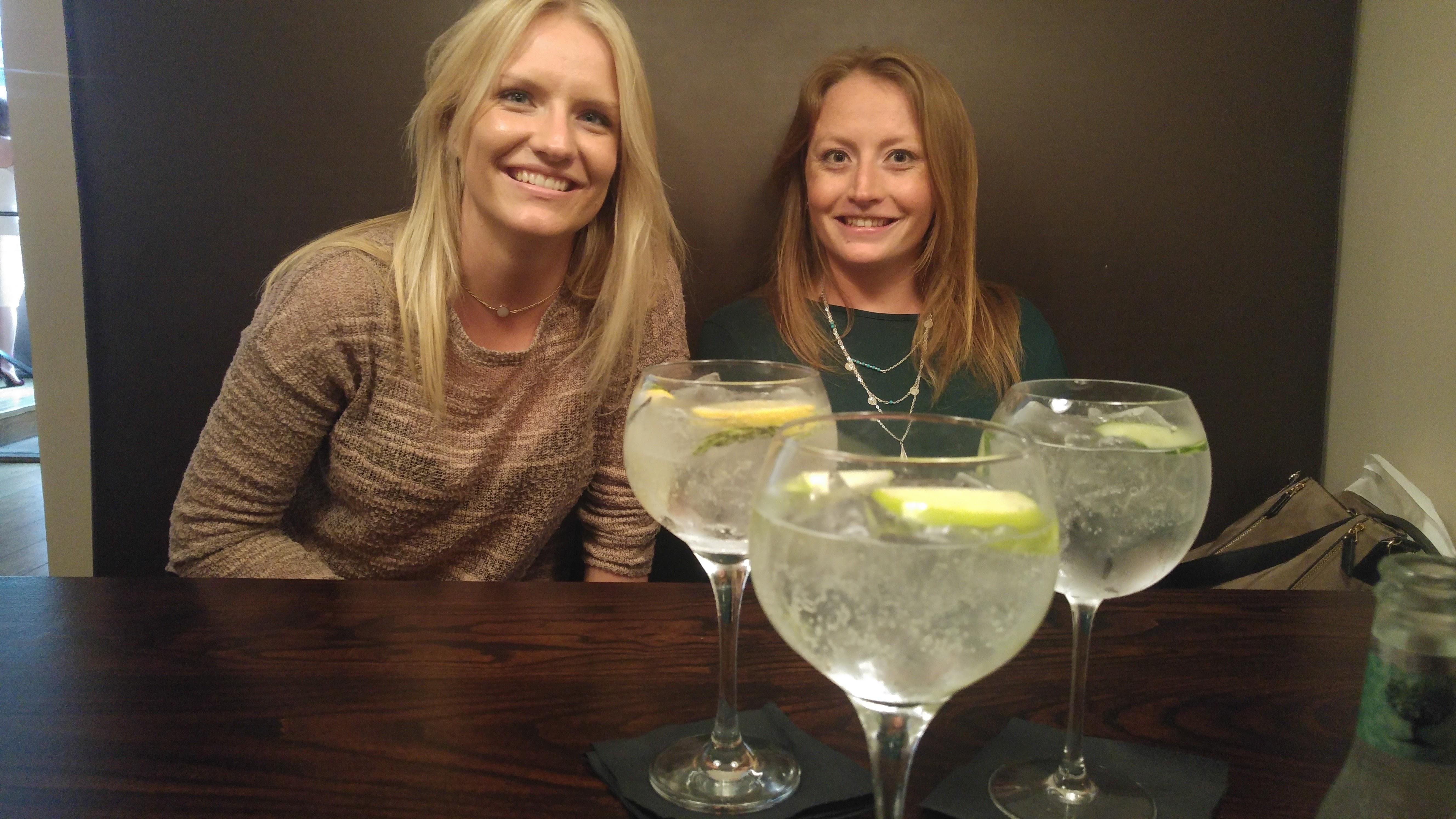 Cardiff Park Plaza Gin Menu