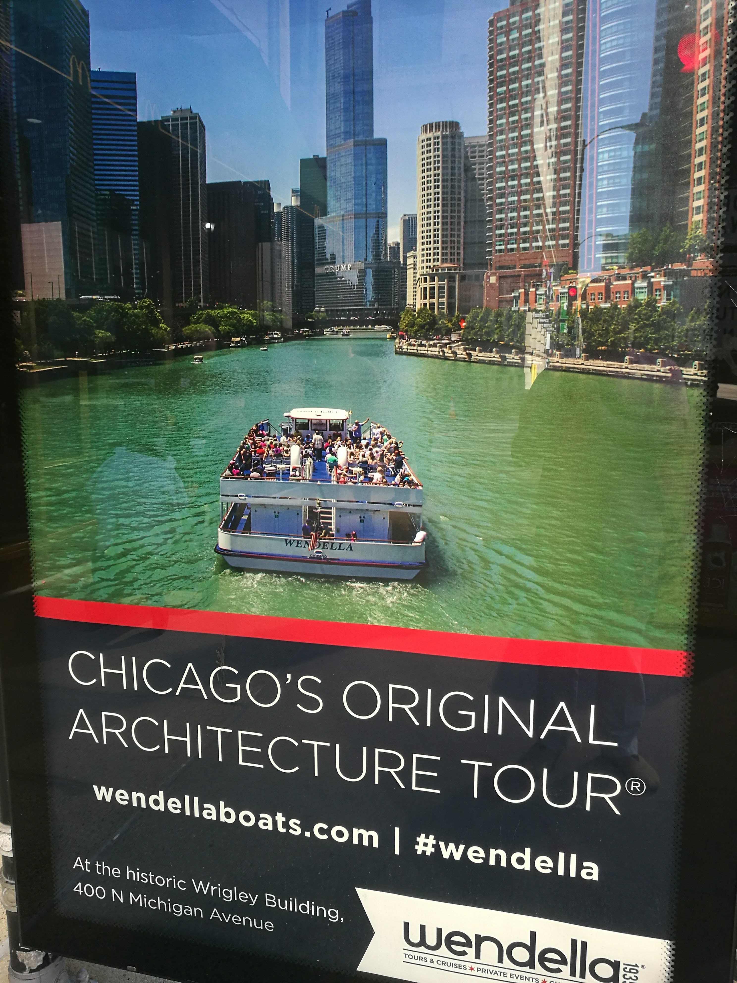Our Boat Trip in Chicago