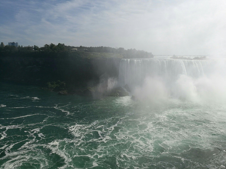 The impressive Niagara Falls