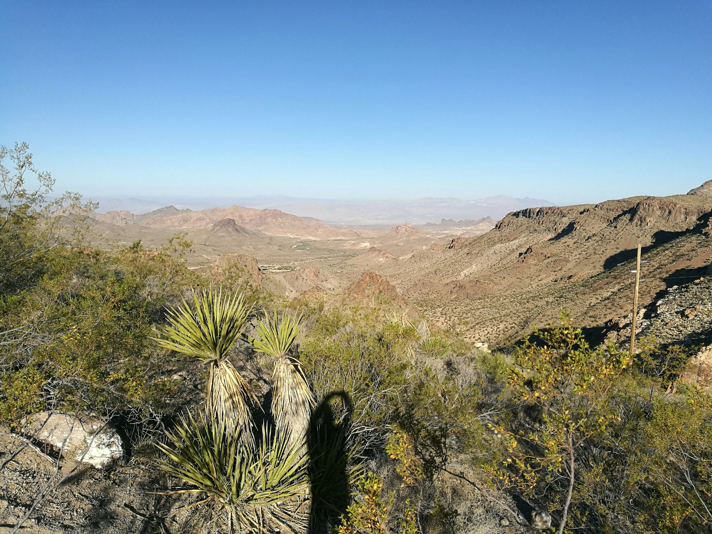 Photographing the silence - Oatman, Arizona