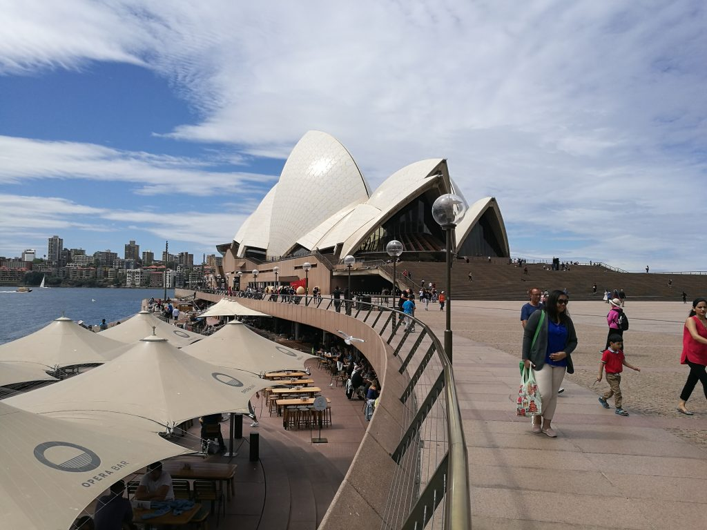 The Opera House at Circular Quay