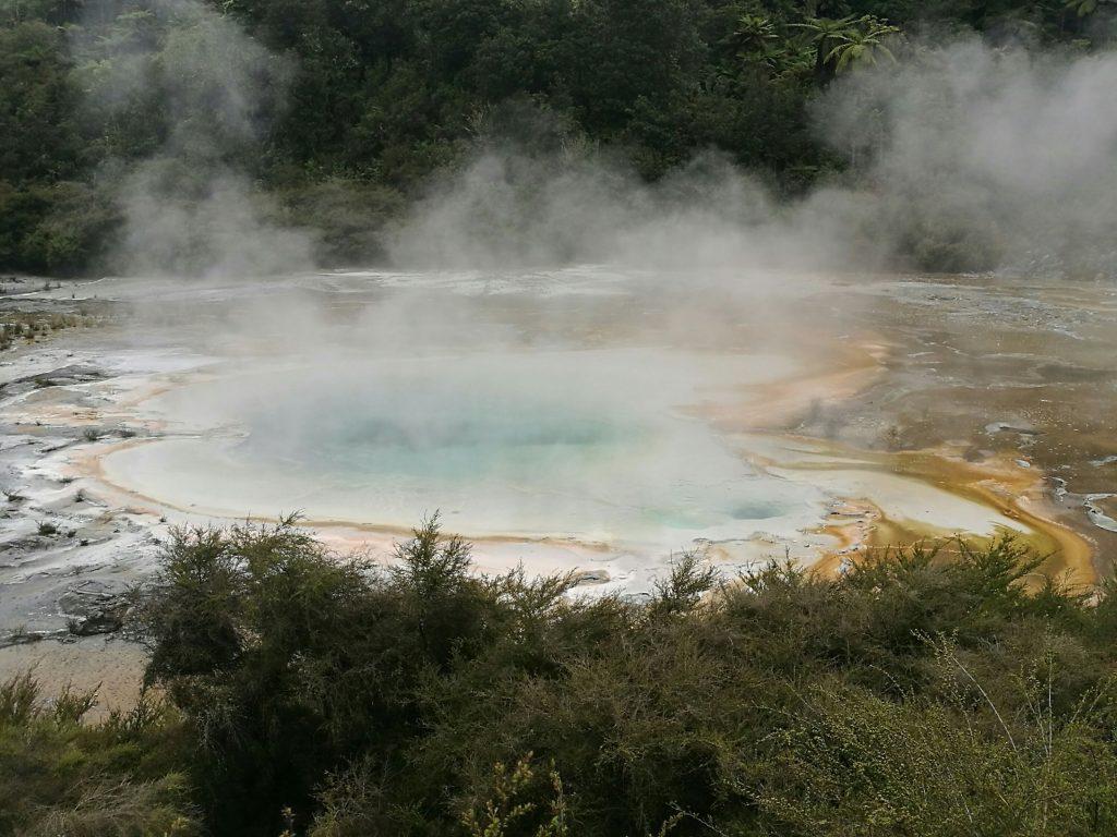 The Orakei Korako Geothermal Park