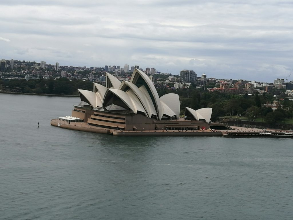 Sydney Opera House from 'The Bridge'