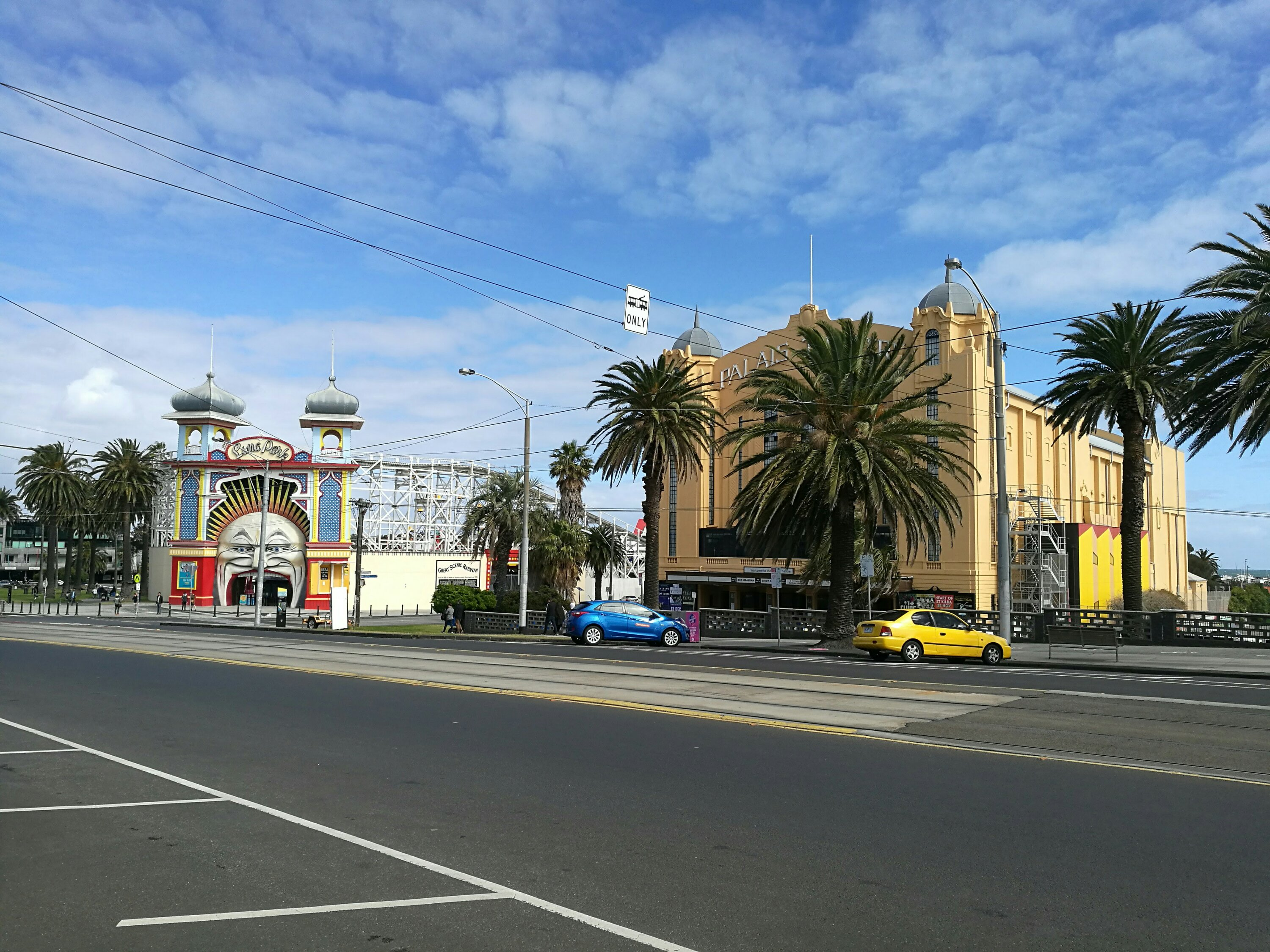 St Kilda Luna Park and the Palais Theatre