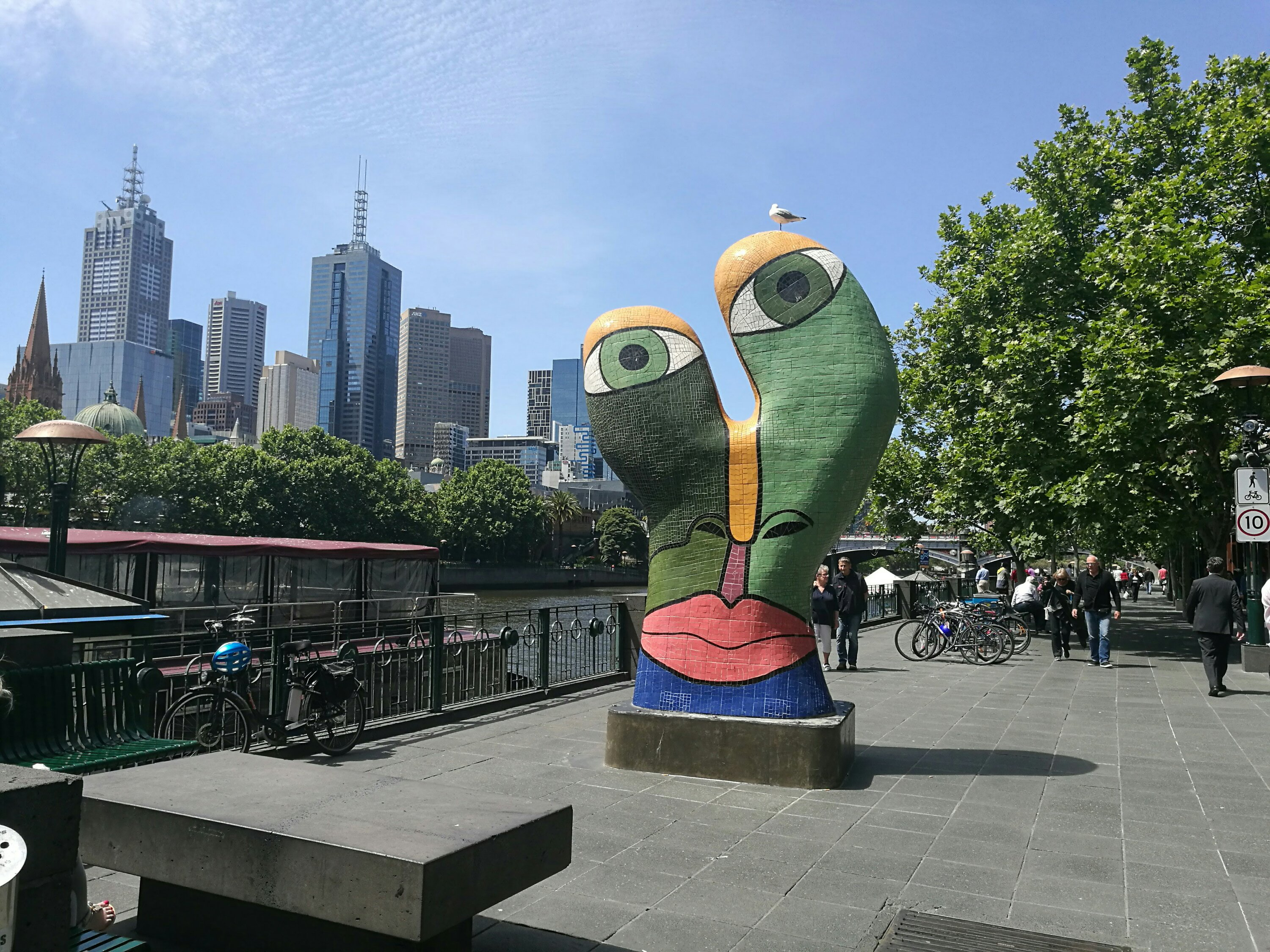 Interesting artwork in Melbourne