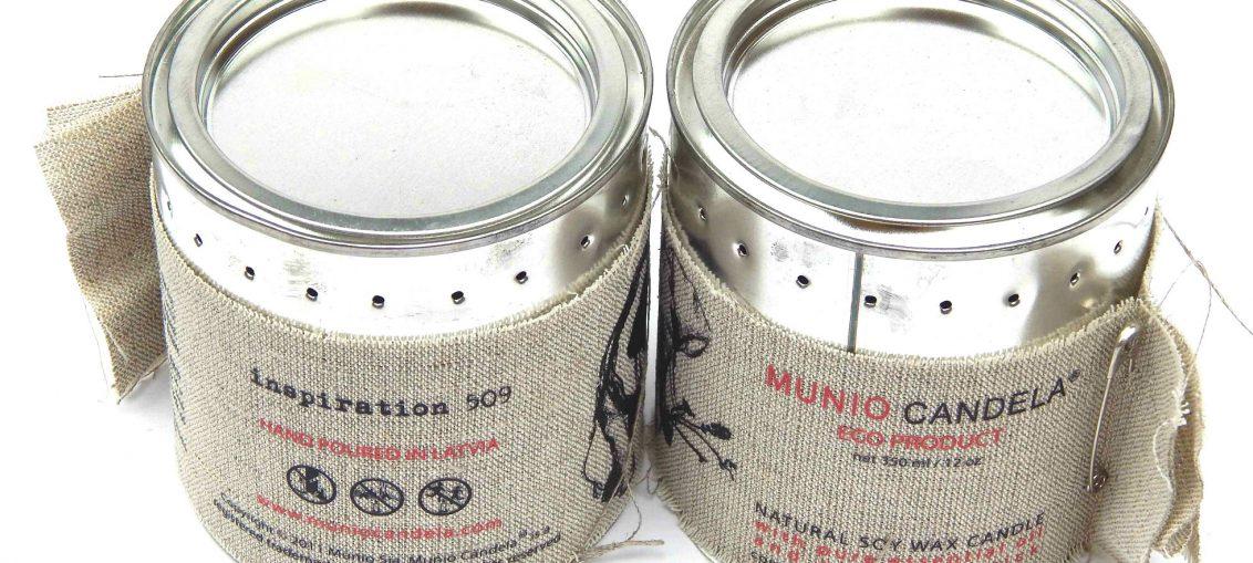 Munio Candela Soy Wax Candles