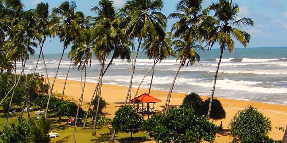 Beach at Sri Lanka