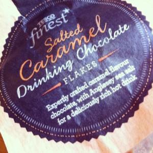 Tesco Salted Caramel Hot Chocolate