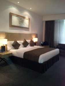 Park Plaza Cardiff room