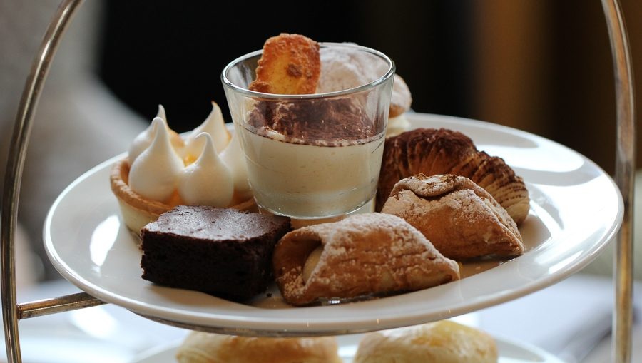 Afternoon Tea at the Baglioni Hotel