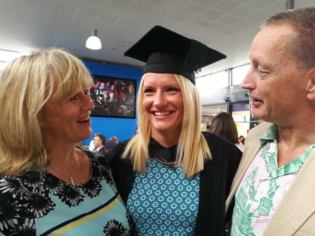 Dr Maddie Carr graduation