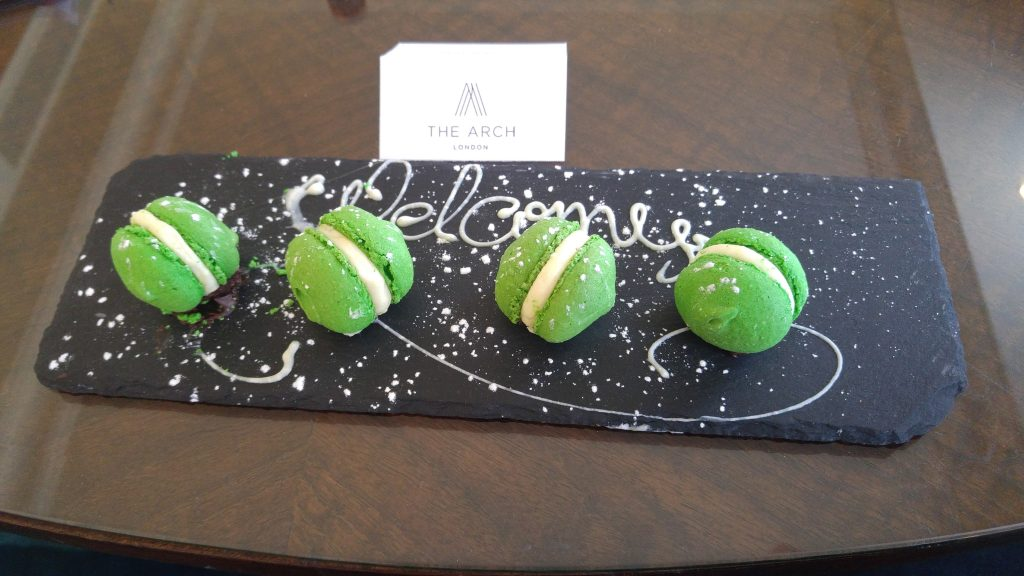 Welcome Treats at The Arch Hotel