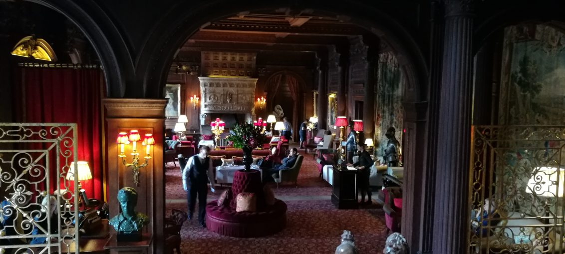 Entrance Hall at Cliveden House