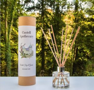 wild fig and guava diffuser Castell Apothecary