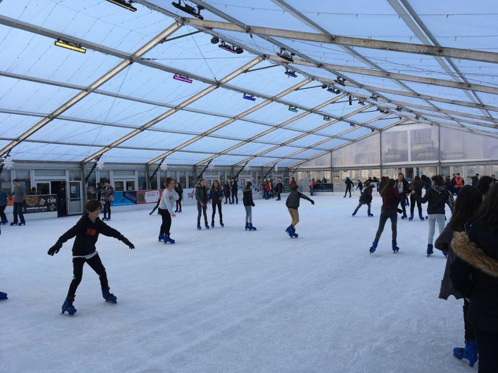 Cardiff Winter Wonderland roof