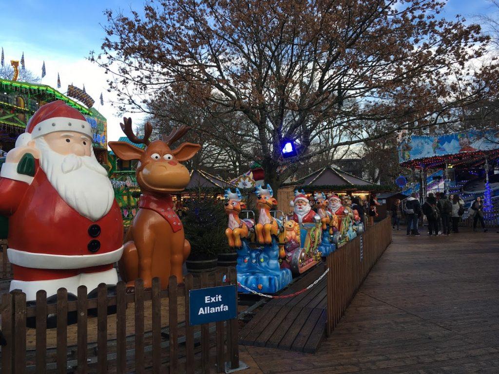 funfair Cardiff Winter Wonderland