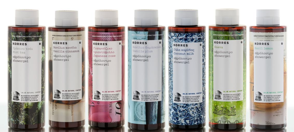 KORRES Shower Gels