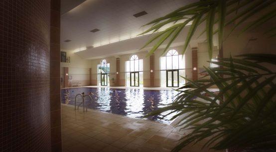 pool at Vale Spa