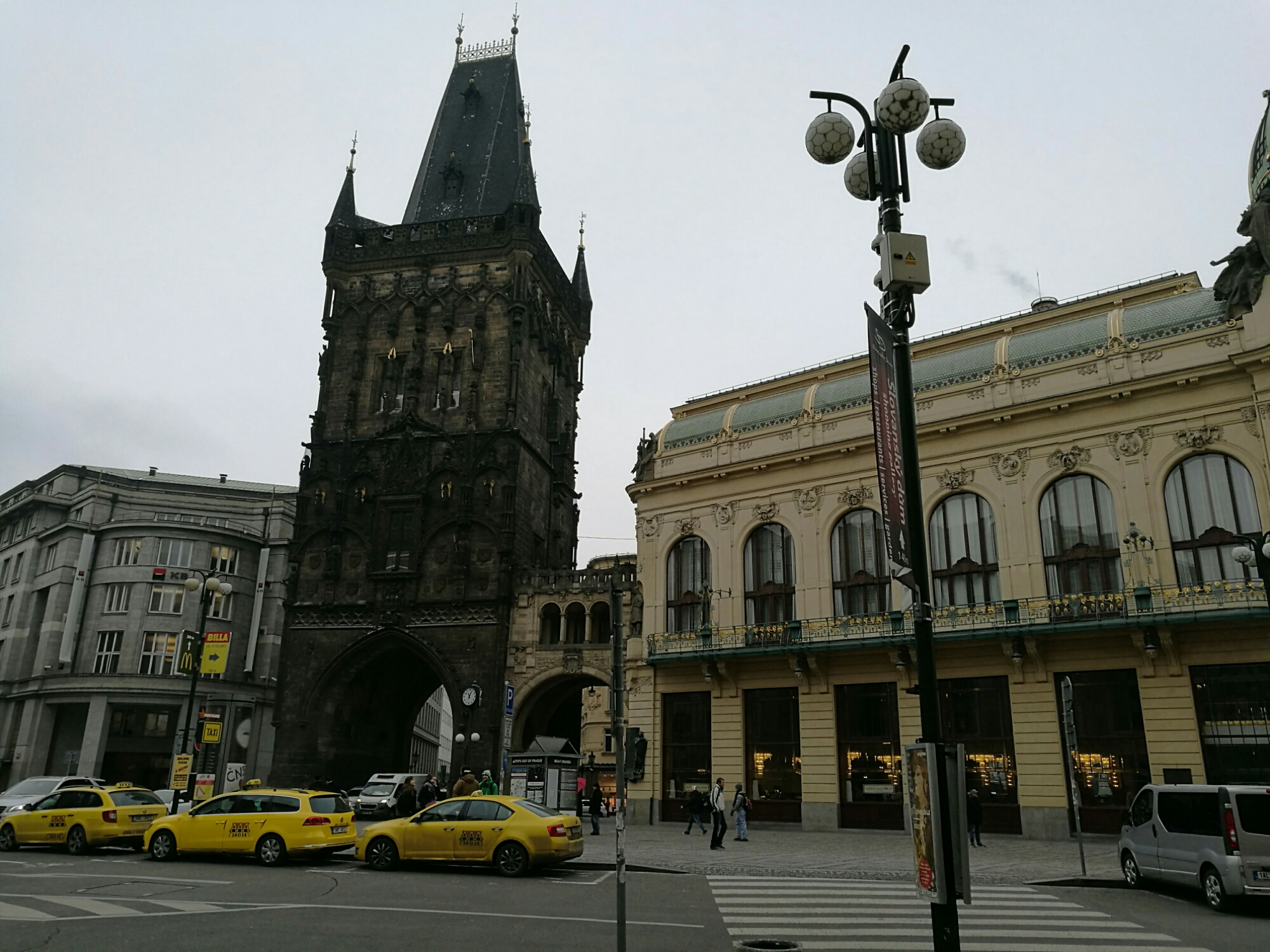 The Powder Gate, Prague