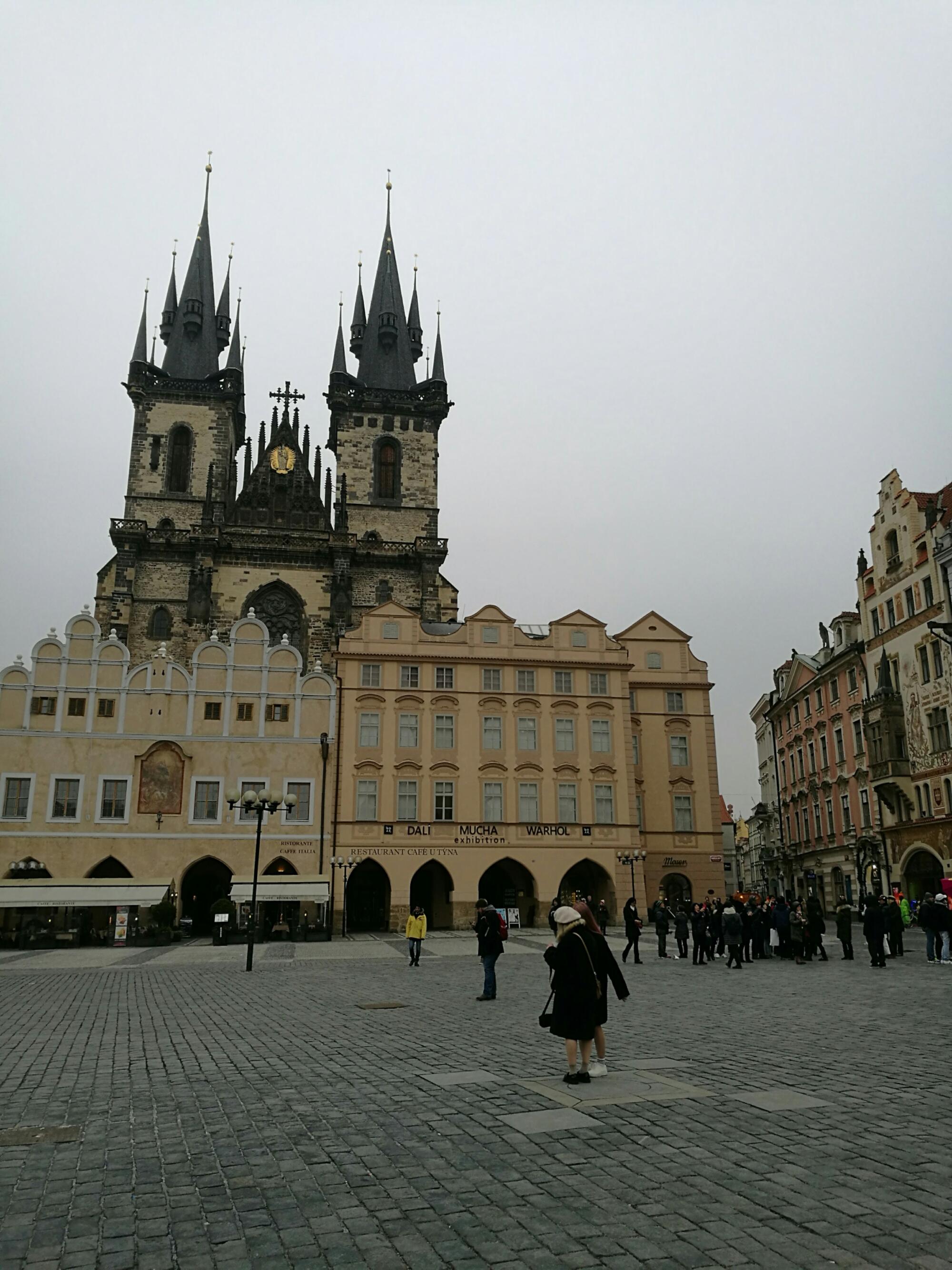 Spires everywhere in Prague
