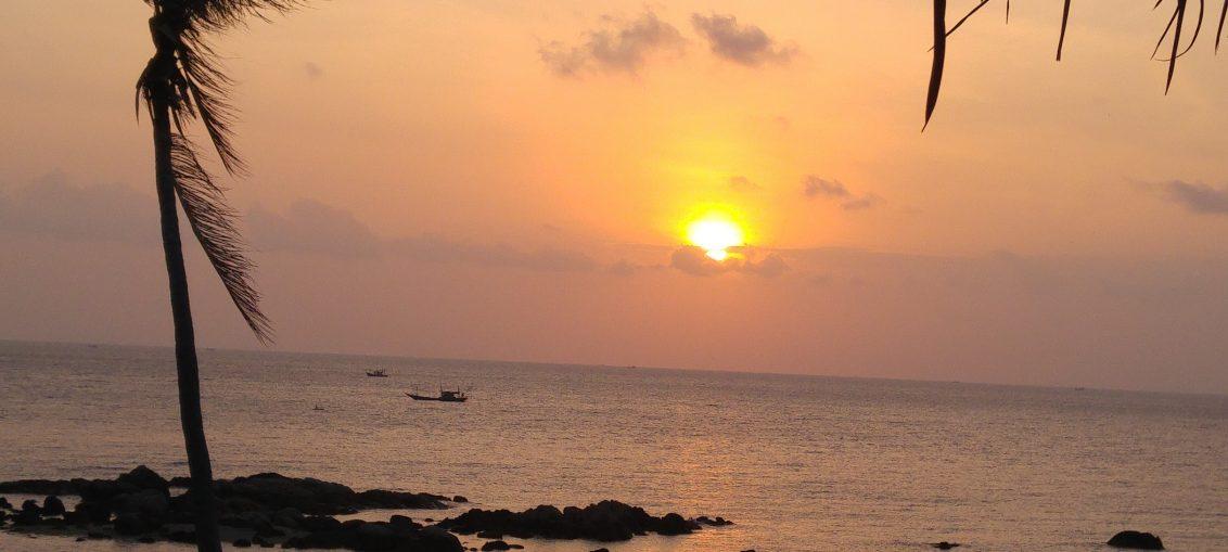 Sunset at Kohl's Phangan