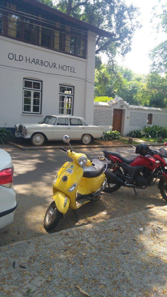 yellow motorbike India