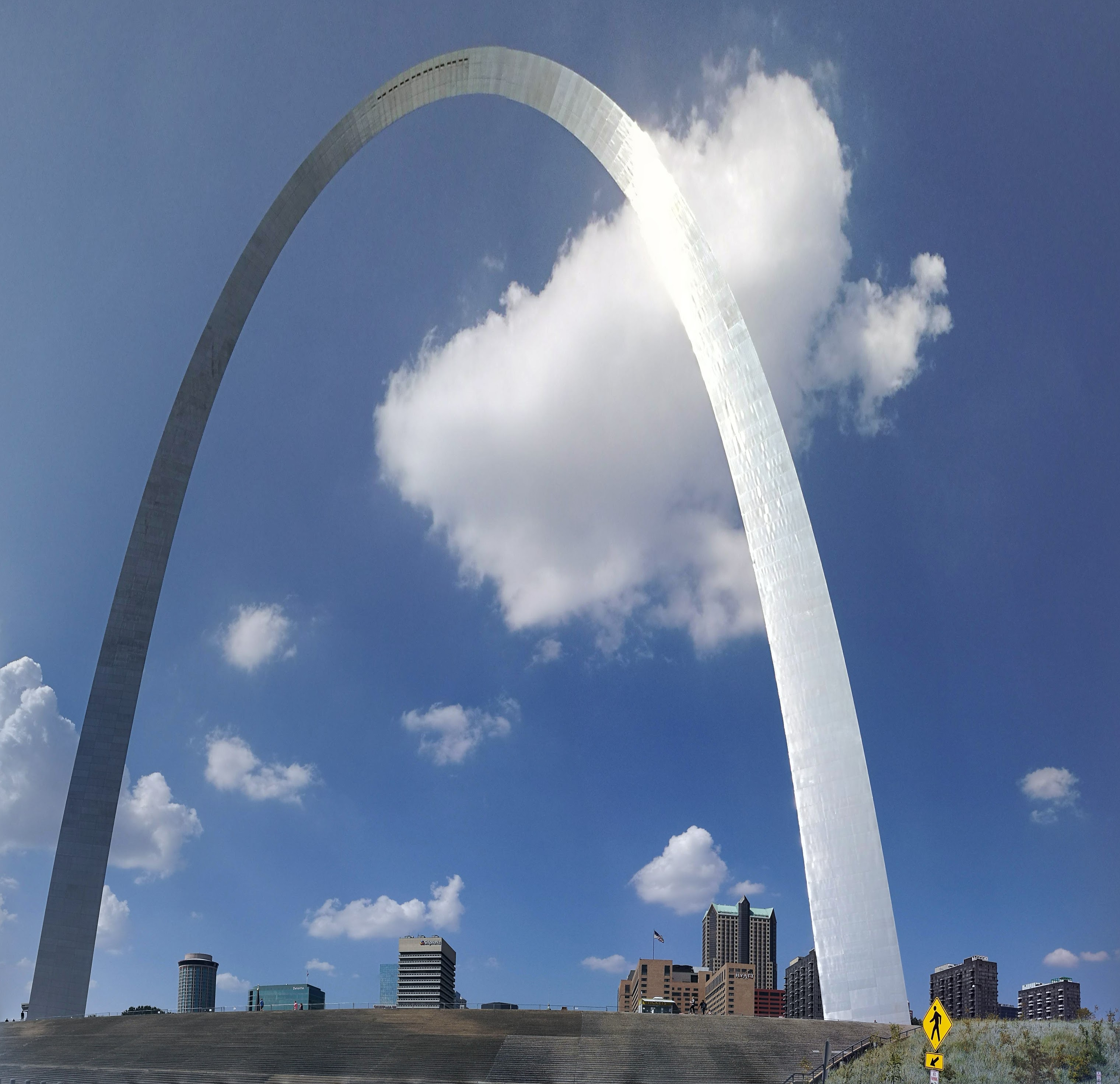 The Gateway Arch in St Louis
