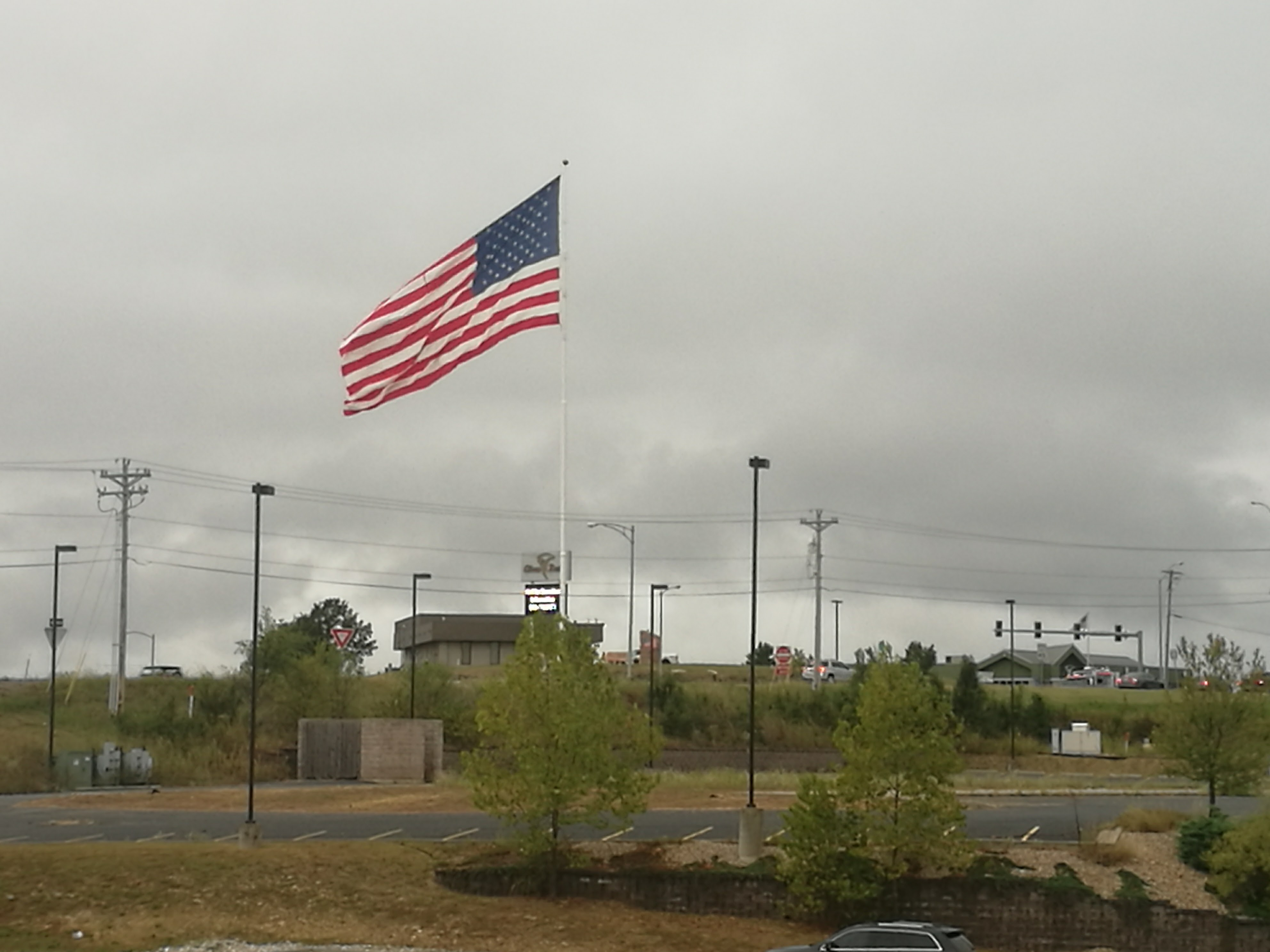 US Flag at St Robert