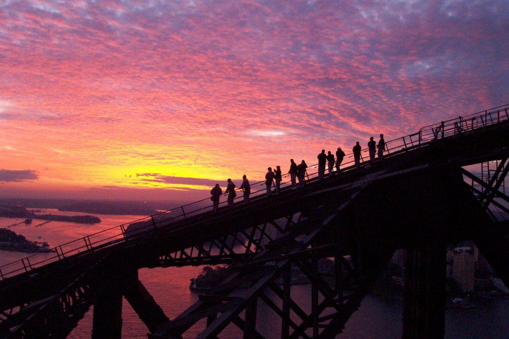 Climbing the Harbour Bridge