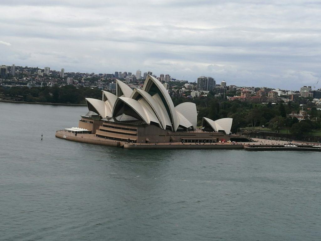 Sydney Opera House from 'The Bridge'