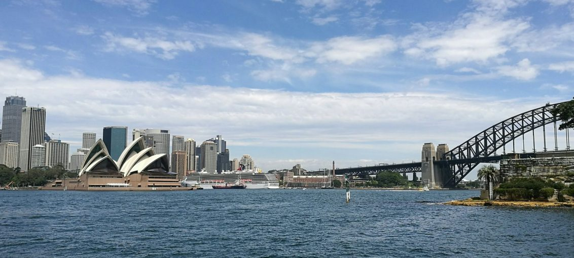 A View of Sydney from the Ferry