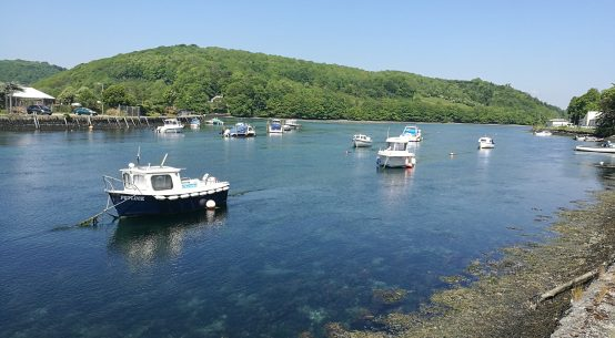 The river at Looe, Cornwall