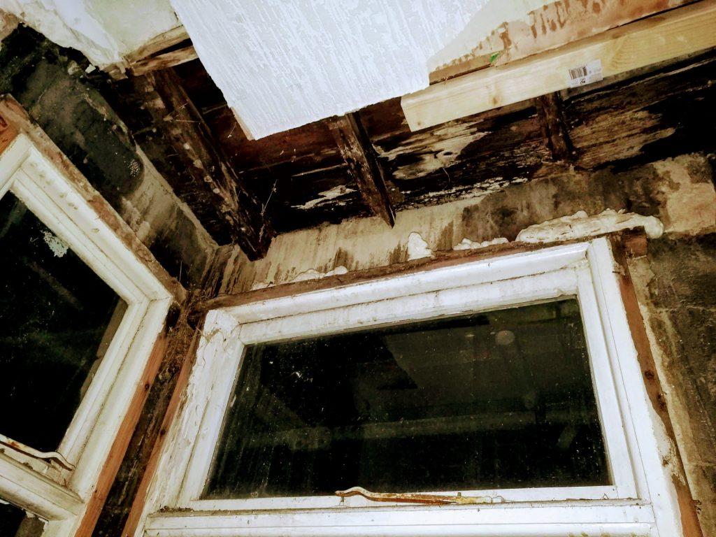 Bedroom bay window 2 years ago